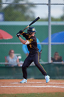 Austin Hawke (2) during the WWBA World Championship at Terry Park on October 11, 2020 in Fort Myers, Florida.  Austin Hawke, a resident of Pfafftown, North Carolina who attends Reagan High School, is committed to North Carolina.  (Mike Janes/Four Seam Images)