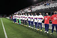 FORT LAUDERDALE, FL - DECEMBER 09: USMNT bench during a game between El Salvador and USMNT at Inter Miami CF Stadium on December 09, 2020 in Fort Lauderdale, Florida.
