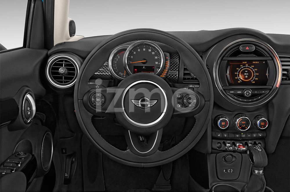 Car pictures of steering wheel view of a 2017 MINI Cooper S 5 Door Hatchback Steering Wheel