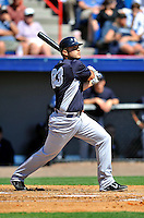 12 March 2011: New York Yankees' catcher Jesus Montero in action during a Spring Training game against the Washington Nationals at Space Coast Stadium in Viera, Florida. The Nationals edged out the Yankees 6-5 in Grapefruit League action. Mandatory Credit: Ed Wolfstein Photo