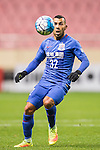 Carlos Tevez of Shanghai Shenhua FC in action during their AFC Champions League 2017 Playoff Stage match between Shanghai Shenhua FC (CHN) and Brisbane Roar (AUS) at the Hongkou Stadium, on 08 February 2017 in Shanghai, China. Photo by Marcio Rodrigo Machado / Power Sport Images