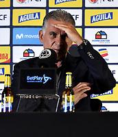 Carlos Queiroz, Rueda de Prensa / Carlos Queiroz, Press Conference, 27-08-2019