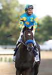 July 29, 2012 Paynter, Rafael Bejarano up, wins the 45th running of the Haskell Invitational at Monmouth Park Racetrack, Oceanport, NJ Trainer is Bob Baffert. @Joan Fairman Kanes/Eclipse Sportswire