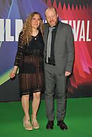 """guest and Steve Oram at the 65th BFI London Film Festival """"The Phantom of the Open"""" world premiere, Royal Festival Hall, Belvedere Road, on Tuesday 12th October 2021, in London, England, UK. <br /> CAP/CAN<br /> ©CAN/Capital Pictures"""