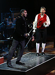 """Norm Lewis and Tony Yazbeck performing during the MCP Production of """"The Scarlet Pimpernel"""" Concert at the David Geffen Hall on February 18, 2019 in New York City."""