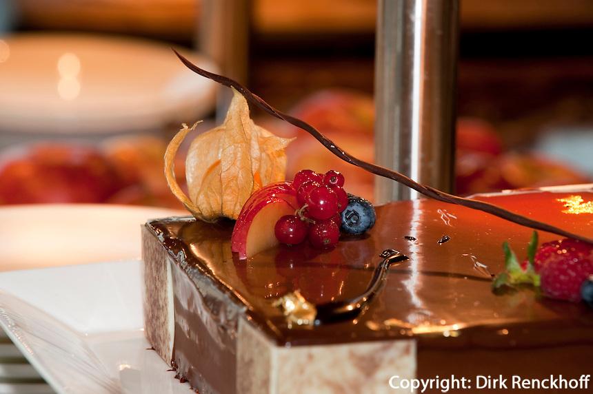 Restaurant Al-Dawaar im Hotel Hyatt Regency in Deira, Dubai, Vereinigte arabische Emirate (VAE, UAE)