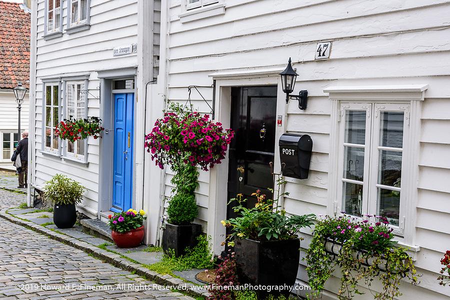 Traditional homes in Skavanger