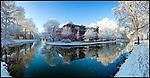 Nederland, 22-12-2007, Sonneborgh , former planetarium, winter 2007, . foto: Michael Kooren/ Utrecht.