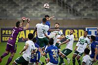 BELO HORIZONTE (MG) - 30/06/2021 - CRUZEIRO-GUARANI - Partida entre Cruzeiro e Guarani, válida pela oitava rodada do Campeonato Brasileiro da série B 2021, realizada no Estadio Mineirão, na cidade de Belo Horizonte, nesta quarta feira (30)