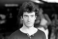 August 23, 1987 File Photo - Montreal (Qc) Canada - French <br /> actor Thierry Fremont <br /> Thierry FrŽmont (born 12 July 1962) is a French actor. He has appeared in over 65 films and television shows since 1984. He starred in the 1991 film Fortune Express, which was entered into the 41st Berlin International Film Festival.