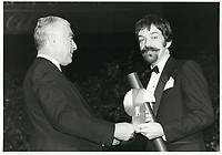 Pierre Demarais II au Club des ambassadeurs, 1985<br /> <br /> <br /> PHOTO : Agence Quebec Presse