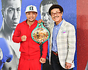 Boxing : WBC Flyweight and Light Flyweight Champions attend press conference