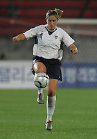 Oct 29, 2006: Kimhae, South Korea:  Cat Whitehill