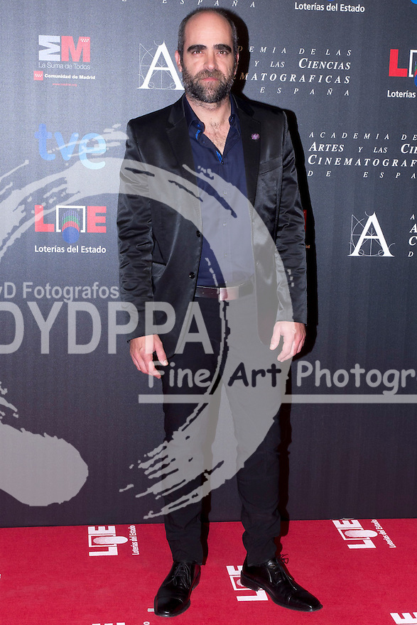 28/01/2012. Real Casa de Correos. Madrid. Spain. Goya Awards Nominated Gala 2012. Luis Tosar