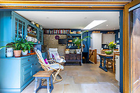 BNPS.co.uk (01202 558833)<br /> Pic: Strutt&Parker/BNPS<br /> <br /> Pictured: Living space. <br /> <br /> An 18th century cottage in 'the prettiest village in England' is on the market for £675,000.<br /> <br /> Number 2 School Lane is Grade II listed, built with beautiful Cotswold stone and filled with character features like exposed timber beams and original fireplaces.<br /> <br /> The attractive three-bedroom property is in the highly sought after Wiltshire village of Castle Combe.<br /> <br /> The quintessentially English village has been used regularly as a film location and the houses are mostly made with honey-coloured Cotswold stone.