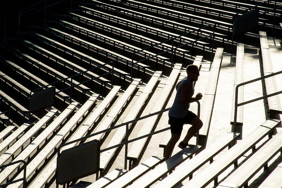 July 4, 2018; Storm the Stadium (Photo by Matt Cashore/University of Notre Dame)