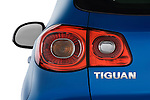 Tail light close up detail view of a 2009 Volkswagen Tiguan SEL