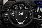 Car pictures of steering wheel view of a 2015 Honda CR-V Elegance 5 Door SUV Steering Wheel