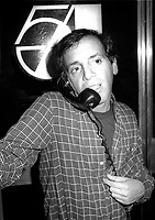 Steve Rubell Studio 54 1978<br /> Photo By Adam Scull/PHOTOlink.net