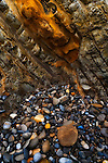 beach rocks, Montana de Oro State Park, California