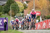 Sep Vanmarcke (BEL/EF) up the Paterberg<br /> <br /> 104th Ronde van Vlaanderen 2020 (1.UWT)<br /> 1 day race from Antwerpen to Oudenaarde (BEL/243km) <br /> <br /> ©kramon