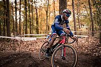 Mickaël Crispin (FRA)<br /> <br /> UEC Cyclocross European Championships 2020 - 's-Hertogenbosch (NED)<br /> <br /> Elite MEN<br /> <br /> ©kramon