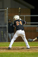 at Davie County High School on March 7, 2018 in Mocksville, North Carolina.  The Wildcats defeated the War Eagles 12-0.  (Brian Westerholt/Four Seam Images)