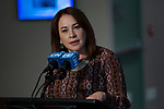 Press Encounter by incoming President of the 73rd Session of the General Assembly, Ms. María Fernand