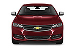 Car photography straight front view of a 2020 Chevrolet Impala Premier 4 Door Sedan Front View
