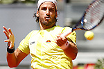 Feliciano Lopez, Spain, during Madrid Open Tennis 2016 match.May, 4, 2016.(ALTERPHOTOS/Acero)