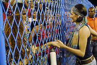 RIO DE JANEIRO-RJ   DIA 29 DE JANEIRO DE 2012<br /> Noite de domingo no ensaio técnico do sambódromo no centro do Rio de janeiro<br /> Déborah Secco