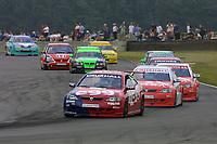 Round 7 of the 2002 British Touring Car Championship. #0 Matt Neal (GBR). Egg Sport. Vauxhall Astra Coupé.