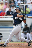February 25, 2009:  Designated hitter Jesus Montero (83) of the New York Yankees during a Spring Training game at Dunedin Stadium in Dunedin, FL.  The New York Yankees defeated the Toronto Blue Jays 6-1.   Photo by:  Mike Janes/Four Seam Images