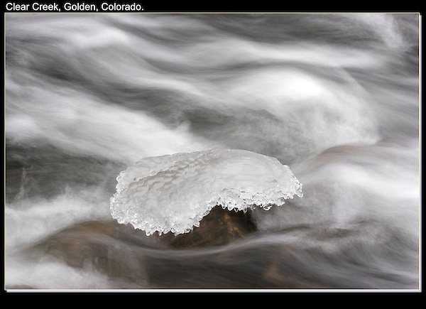 "Sometimes I take photos like this, so ""subjects"" can be placed on this icy pedestal.<br />