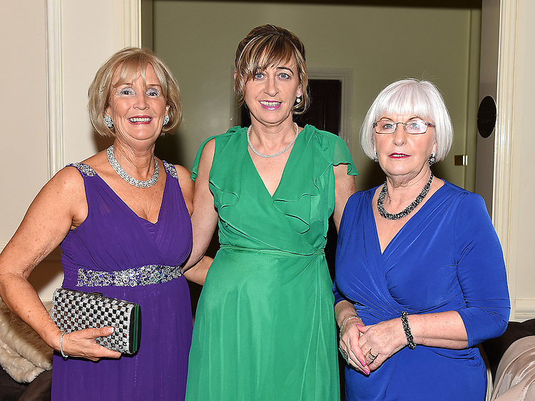 Anne Moonan, Aileen Conlon and Ann Moonan pictured at the Ardee Traders Awards night in the Nuremore hotel Carrickmacross. Photo:Colin Bell/pressphotos.ie