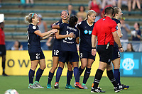 Cary, North Carolina  - Saturday June 17, 2017: Ashley Hatch during a regular season National Women's Soccer League (NWSL) match between the North Carolina Courage and the Boston Breakers at Sahlen's Stadium at WakeMed Soccer Park.Cary, North Carolina  - Saturday June 17, 2017: Ashley Hatch during a regular season National Women's Soccer League (NWSL) match between the North Carolina Courage and the Boston Breakers at Sahlen's Stadium at WakeMed Soccer Park.