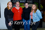 Kathleen White of St Brendans Park celebrating her birthday in Gallys on Saturday night. L to r: Jennifer, Kathleen and Alex White and Sharon O'Connor.