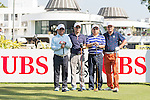 Players during the Am-Am tournament of the 58th UBS Hong Kong Golf Open as part of the European Tour on 13 December 2016, at the Hong Kong Golf Club, Fanling, Hong Kong, China. Photo by Marcio Rodrigo Machado / Power Sport Images