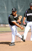 Jhoulys Chacin/ Colorado Rockies 2008 Instructional League..Photo by:  Bill Mitchell/Four Seam Images