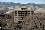 The Kinkead Building shell in Carson City, Nev., on Friday, Dec. 1, 2017. <br /> Photo by Cathleen Allison/Nevada Momentum