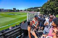 Hospitality during day two of the second International Test Cricket match between the New Zealand Black Caps and West Indies at the Basin Reserve in Wellington, New Zealand on Friday, 11 December 2020. Photo: Dave Lintott / lintottphoto.co.nz