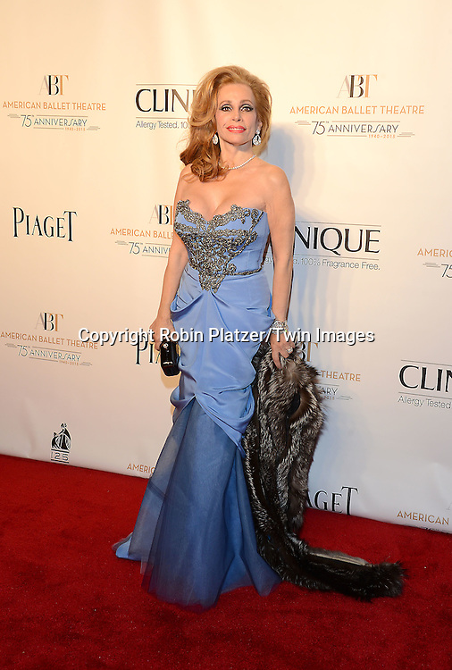 Joy Marks attends the Opening Night of American Ballet Theatre 2014 Fall Gala on October 22,2014 at the David Koch Theater at Lincoln Center in New York City. <br /> <br /> photo by Robin Platzer/Twin Images<br />  <br /> phone number 212-935-0770