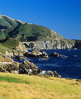 BIG SUR COAST and BIXBY BRIDGE - CALIFORNIA