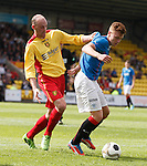 Lewis Macleod with Kevin Nicoll
