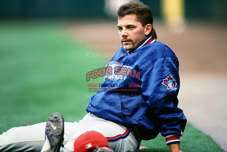 Pat Hentgen of the Toronto Blue Jays during a game against the Anaheim Angels at Angel Stadium circa 1999 in Anaheim, California. (Larry Goren/Four Seam Images)