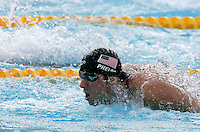 U.S. Michael Phelps swims in a Men's 100m Butterfly semifinal at the Swimming World Championships in Rome, 31 July 2009. .UPDATE IMAGES PRESS/Riccardo De Luca