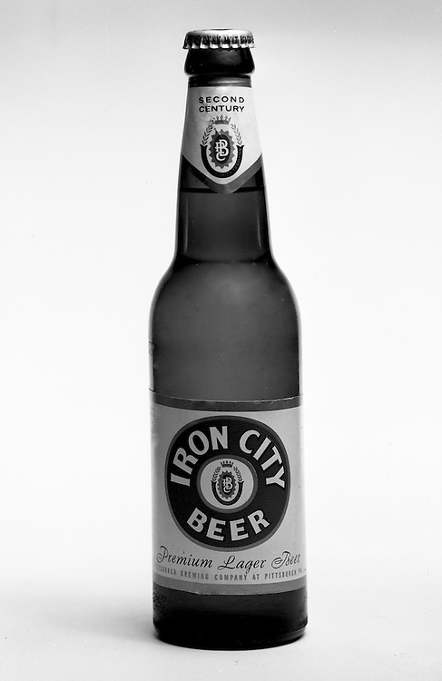 Client: Iron City Beer<br /> Art Studio: The Animators <br /> Contact:<br /> Product: Iron City Beer<br /> Location: Brady Stewart Studio, 725 Liberty Avenue, Pittsburgh <br /> <br /> Studio photography of the new Iron City Label for the Animators, an Art Studio that specialized in television and video production.