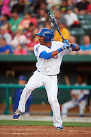 South Bend Cubs outfielder Rashad Crawford (11) at bat during a game against the Cedar Rapids Kernels on June 5, 2015 at Four Winds Field in South Bend, Indiana.  South Bend defeated Cedar Rapids 9-4.  (Mike Janes/Four Seam Images)