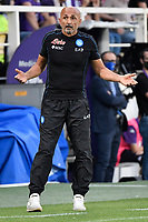 Luciano Spalletti coach of SSC Napoli during the Serie A 2021/2022 football match between ACF Fiorentina and SSC Napoli at Artemio Franchi stadium in Florence (Italy), October 3rd, 2021. Photo Andrea Staccioli / Insidefoto