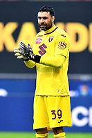 Salvatore Sirigu of Torino FC reacts during the Serie A football match between FC Internazionale and Torino FC at stadio San Siro in Milano (Italy), November 22th, 2020. Photo Image Sport / Insidefoto